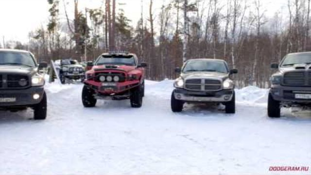 Maslenitsa 2017. Russian Dodge Ram Club movie